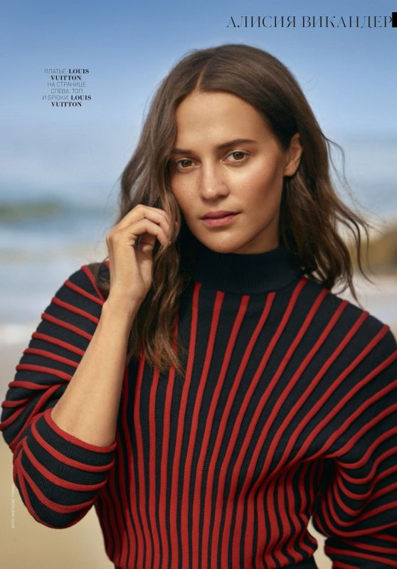Alicia Vikander - Marie Claire Russia January 2019 Issue