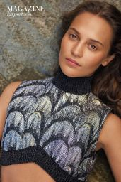 Alicia Vikander - Marie Claire Spain January 2020 Issue