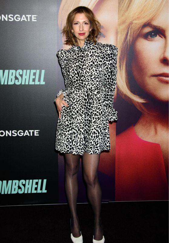 "Alysia Reiner – ""Bombshell"" Screening in New York City"