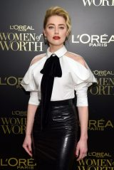 Amber Heard - L'Oreal Paris Women Of Worth Awards 2019 in NYC