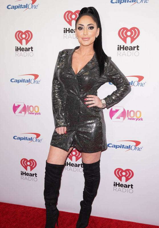 Angelina Pivarnick – Z100's iHeartRadio Jingle Ball 2019 in NYC
