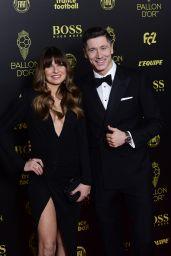 Anna Lewandowska and Robert Lewandowski – Ballon d'Or France Football 2019 Award Ceremony in Paris