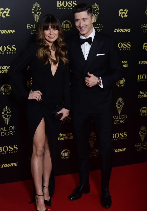 Anna Lewandowska and Robert Lewandowski – Ballon d'Or France Football 2019 Award Ceremony in Paris