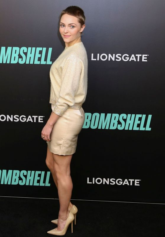 "AnnaSophia Robb – ""Bombshell"" Screening in New York City"
