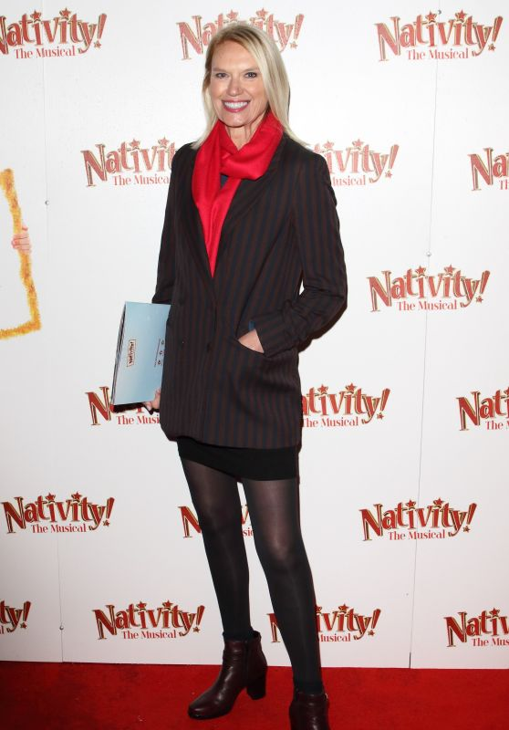 "Anneka Rice – ""Nativity! The Musical"" Press Night Performance in London"