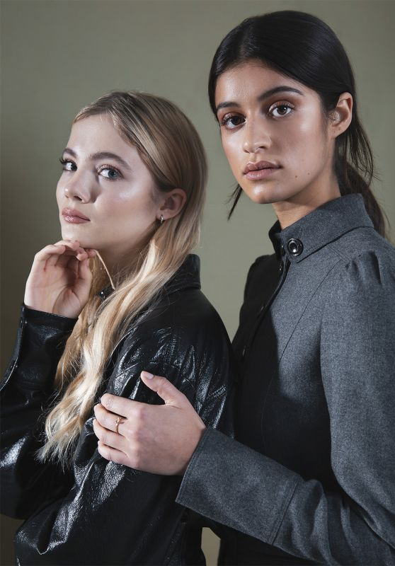 Anya Chalotra and Freya Allan - Hollywood Life Portraits December 2019