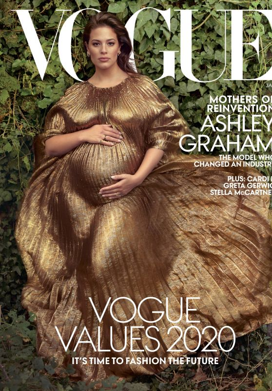Ashley Graham – Vogue Magazine January 2020 Issue