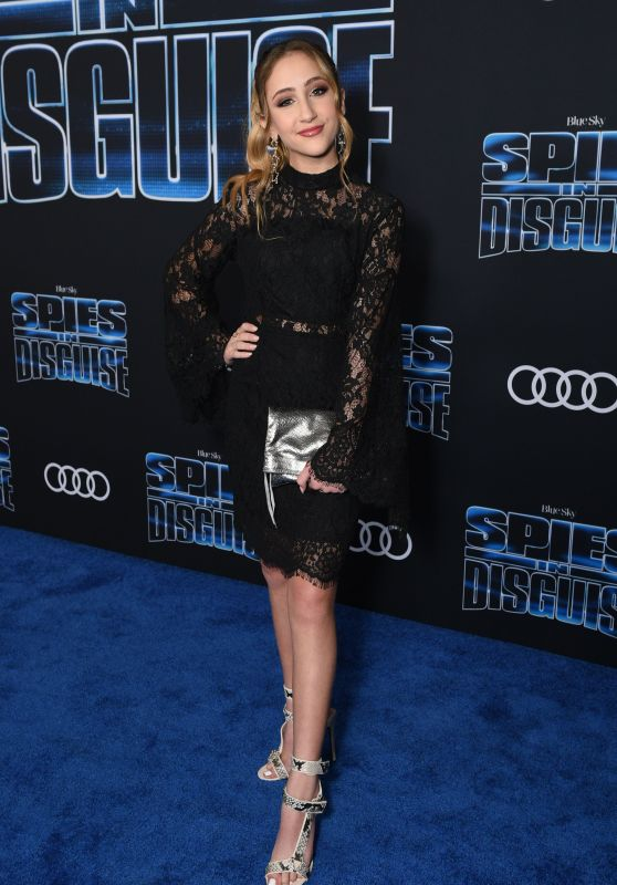 """Ava Kolker - """"Spies in Disguise"""" Premiere in Hollywood"""