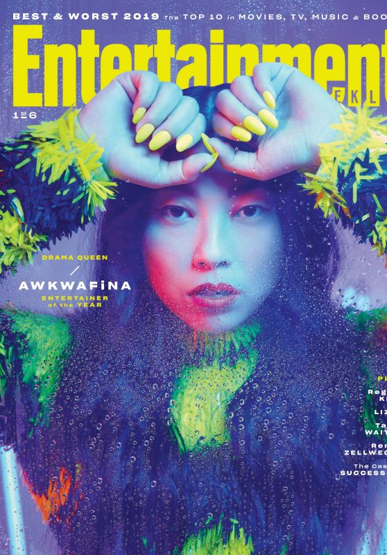 Awkwafina - Entertainment Weekly Entertainers of the Year, December 2019