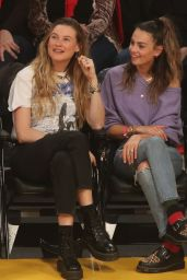 Behati Prinsloo and Whitney Hartley Wagner - LA Lakers vs Denver Nuggets 12/22/2019