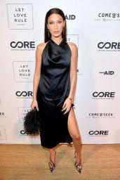 Bella Hadid - Core x Let Love Rule Benefit in Miami 12/05/2019
