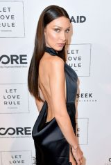 Bella Hadid - Core x Let Love Rule Benefit in Miami 12/05/2019