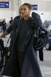 Bella Hadid in Travel Outfit 12/15/2019