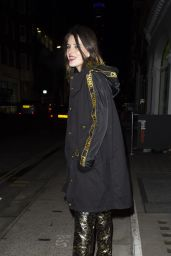 Bella Thorne Night Out Style - London 12/02/2019