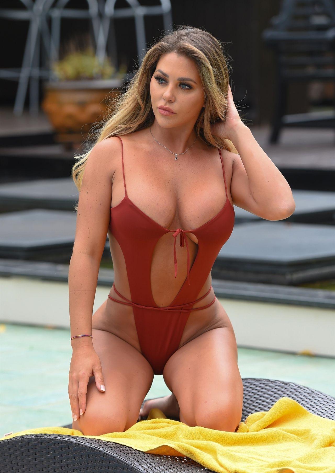 Bianca Gascoigne in a Swimsuit 12/13/2019