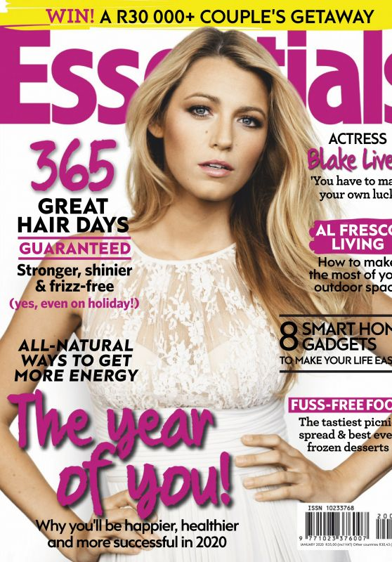 Blake Lively - Essentials South Africa January 2020 Issue
