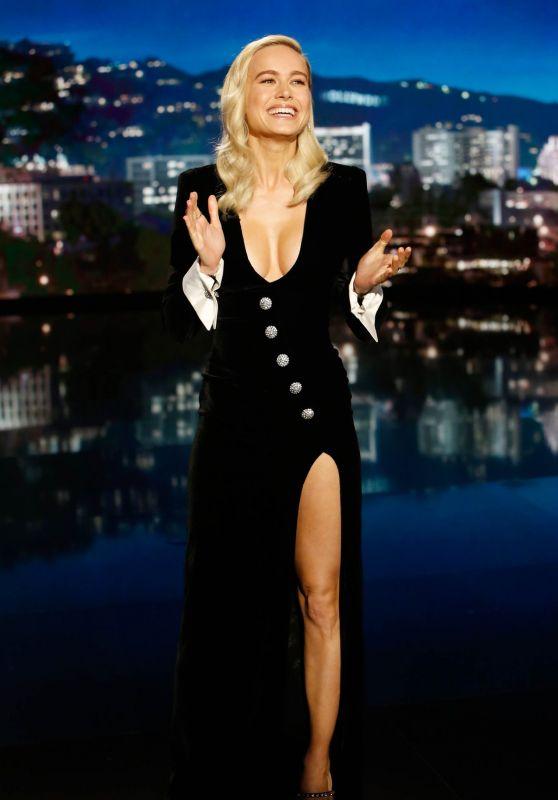 Brie Larson - Jimmy Kimmel Live in Los Angeles 12/17/2019