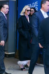 Brie Larson - Leaving GMA in New York 12/16/2019