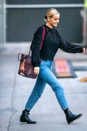 "Brie Larson - Leaving ""Jimmy Kimmel Live"" in LA 12/17/2019"