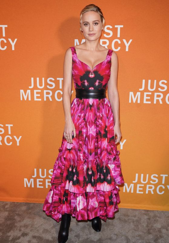 "Brie Larson - Special NY Reception to Celebrate ""Just Mercy"" in NY"