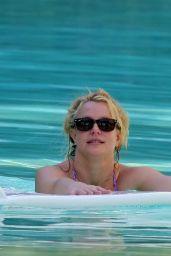 Britney Spears in a Bikini at a Pool in Miami 12/01/2019