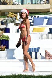 Brooke Burke in a Bikini 12/24/2019