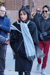 Camila Cabello - Leaving the Z100 Studios in NYC 12/12/2019