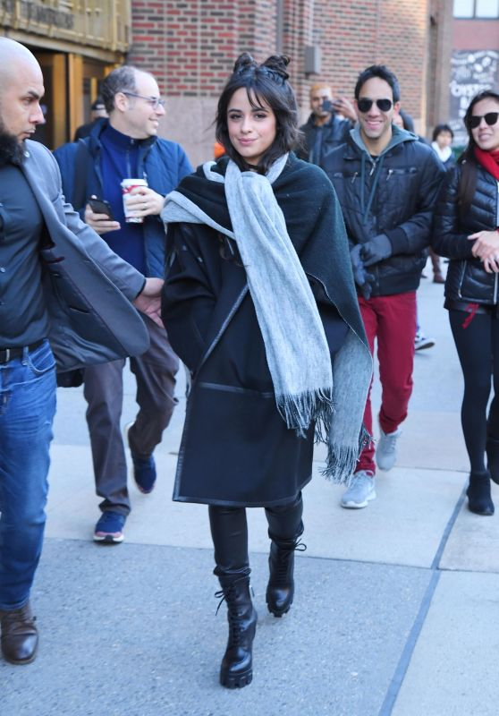 Camila Cabello - Leaving the Z100 Studios in NYC 12/12/2019
