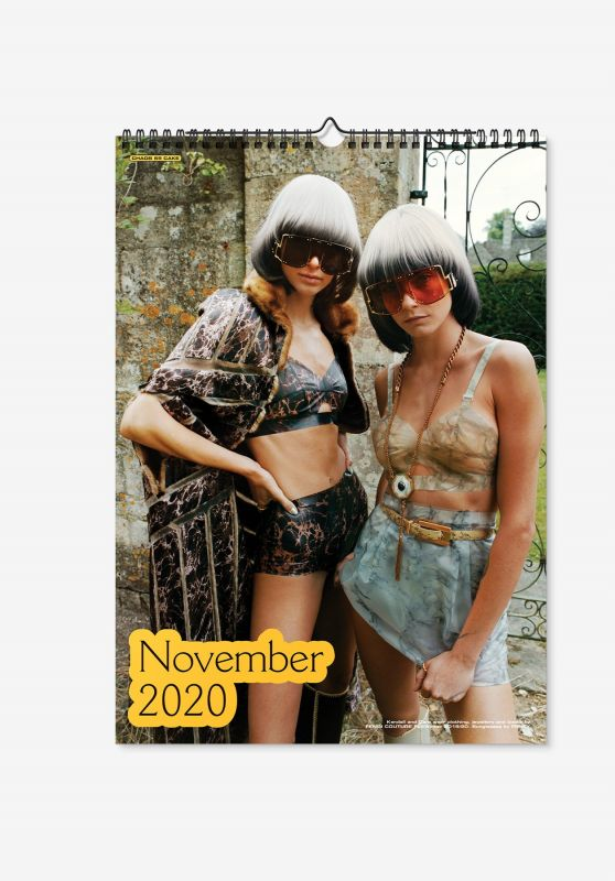 Cara Delevingne and Kendall Jenner - CHAOS 2020 Calendar