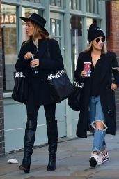 Caroline Flack - Shopping in East London 12/24/2019