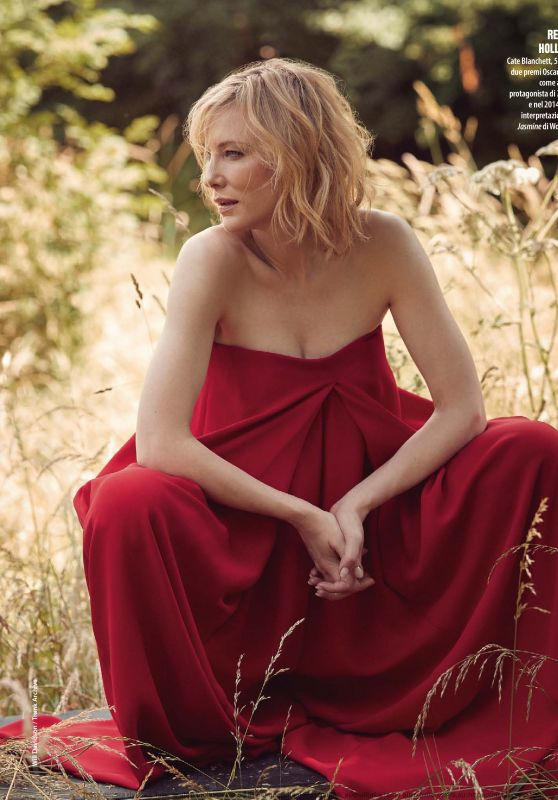 Cate Blanchett - Natural Style December 2019 Issue