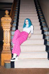 Charlotte Lawrence - Photoshoot for ELLE December 2019