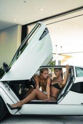Charly Jordan and Rachel Cook - Photoshoot 2019