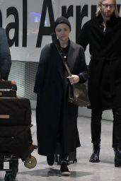 Chloe Moretz - Heathrow Airport in London 12/02/2019