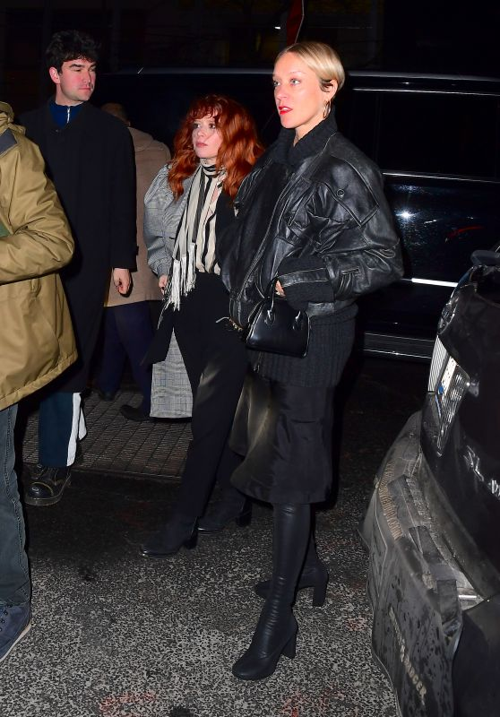 Chloe Sevigny and Natasha Lyonne - SNL After Party in New York City 12/21/2019