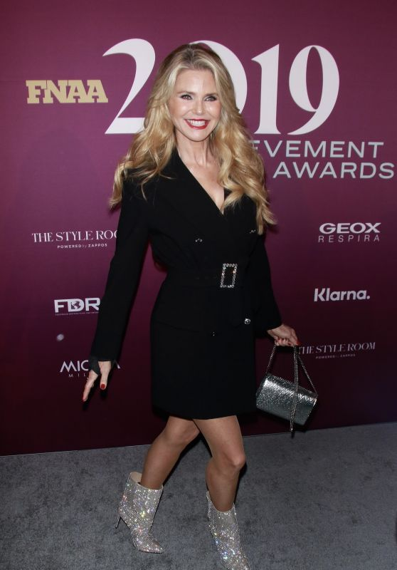 Christie Brinkley – Footwear News Achievement Awards 2019