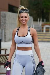 Christine McGuinness - Leaving the Gym 12/23/2019