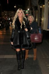 Christine McGuinness - Thriller Live at the Lyric Theatre in London 12/11/2019