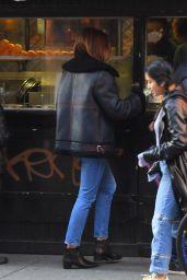 Cindy Crawford Street Style - New York City 12/12/2019