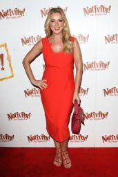 "Claire Sweeney - ""Nativity! The Musical"" Press Night Performance in London"