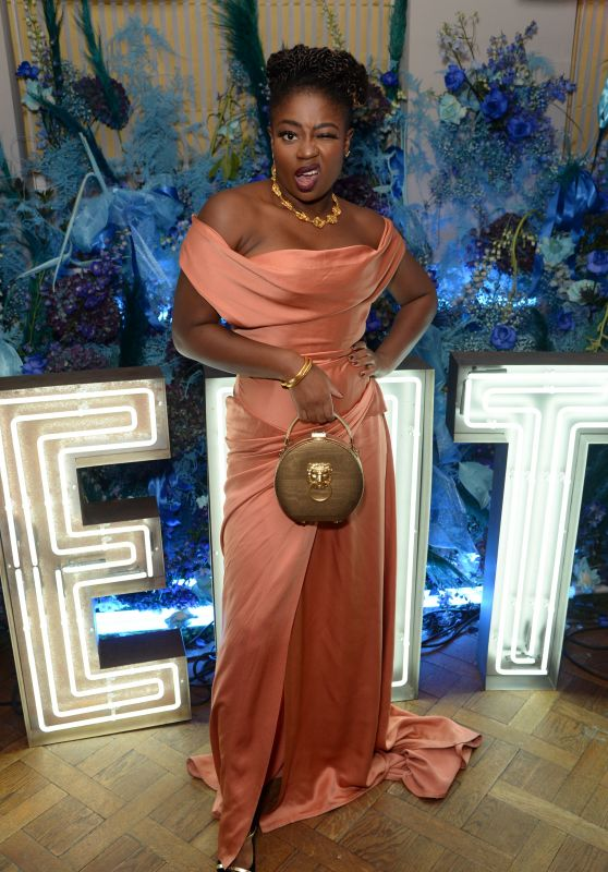 Clara Amfo – Fenty Party in London 12/02/2019