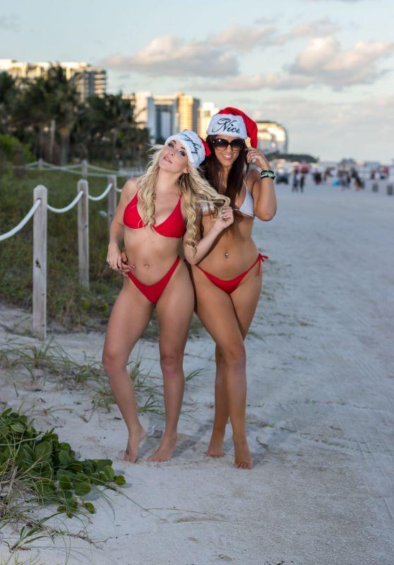 Claudia Romani and Jess Picado - South Beach 12/22/2019