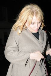 Courtney Love - Arrives at Chiltern Firehouse in London 11/28/2019