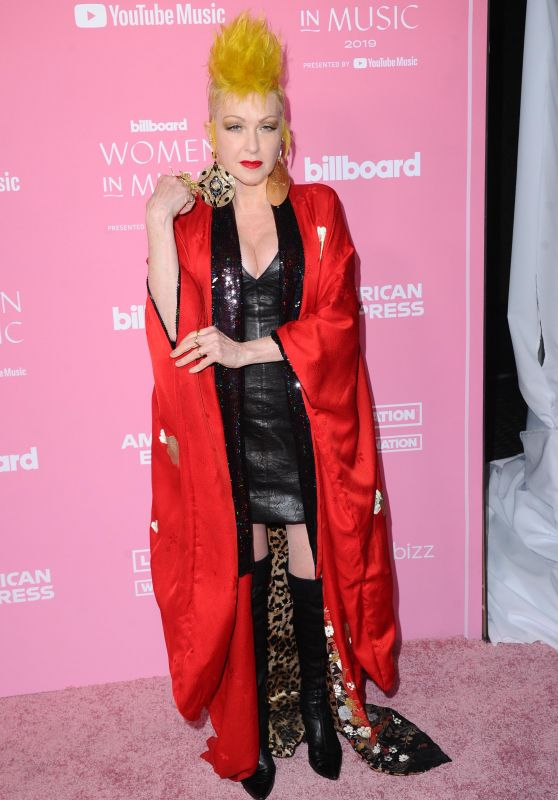 Cyndi Lauper – Billboard Women in Music 2019