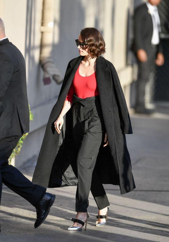 Daisy Ridley - Arriving on Jimmy Kimmel Live in LA 12/16/2019