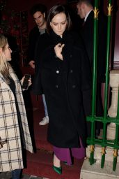 Daisy Ridley - Leaving Park Chinois Restaurant in London 12/19/2019