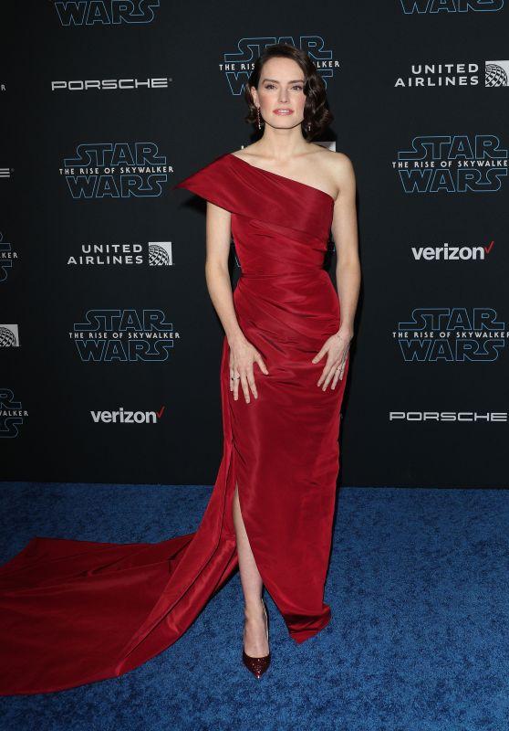 """Daisy Ridley - """"Star Wars: The Rise Of Skywalker"""" Premiere in LA"""