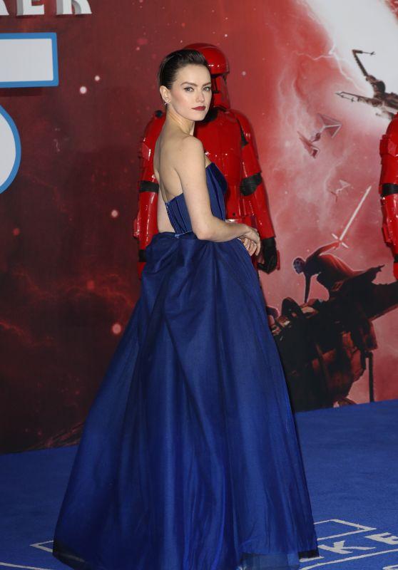 "Daisy Ridley - ""Star Wars: The Rise of Skywalker"" Premiere in London"
