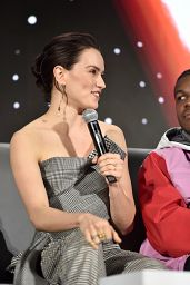 """Daisy Ridley - """"Star Wars: The Rise of Skywalker"""" Press Conference in Pasadena"""