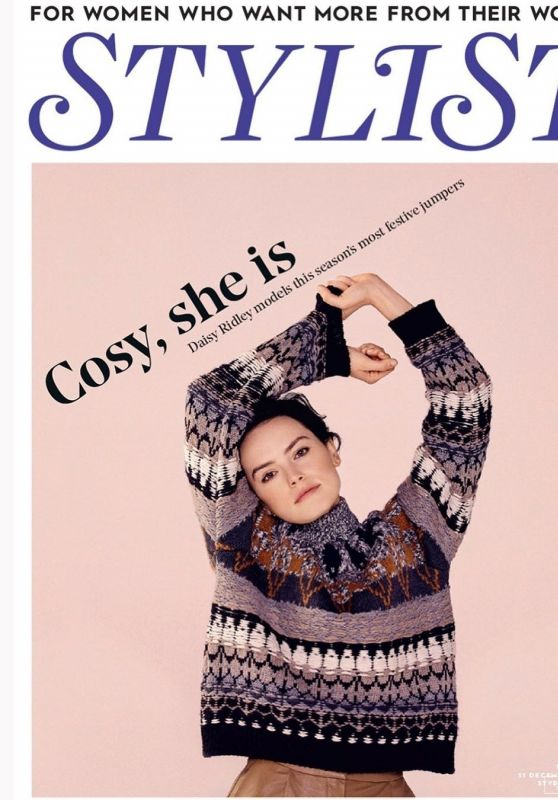 Daisy Ridley - Stylist 2019 Cover